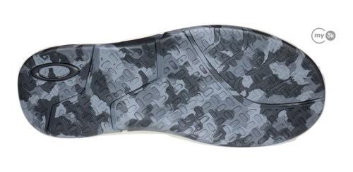 Chinelo Oakley Rest Camuflado Preto