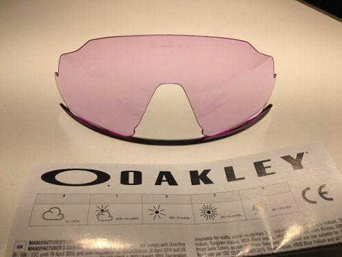 Lente Para Oakley Flight Jacket Prizm Low  Light