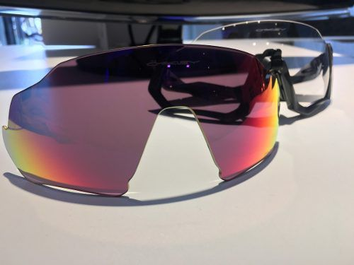Lente Para Oakley Flight Jacket Prizm Road
