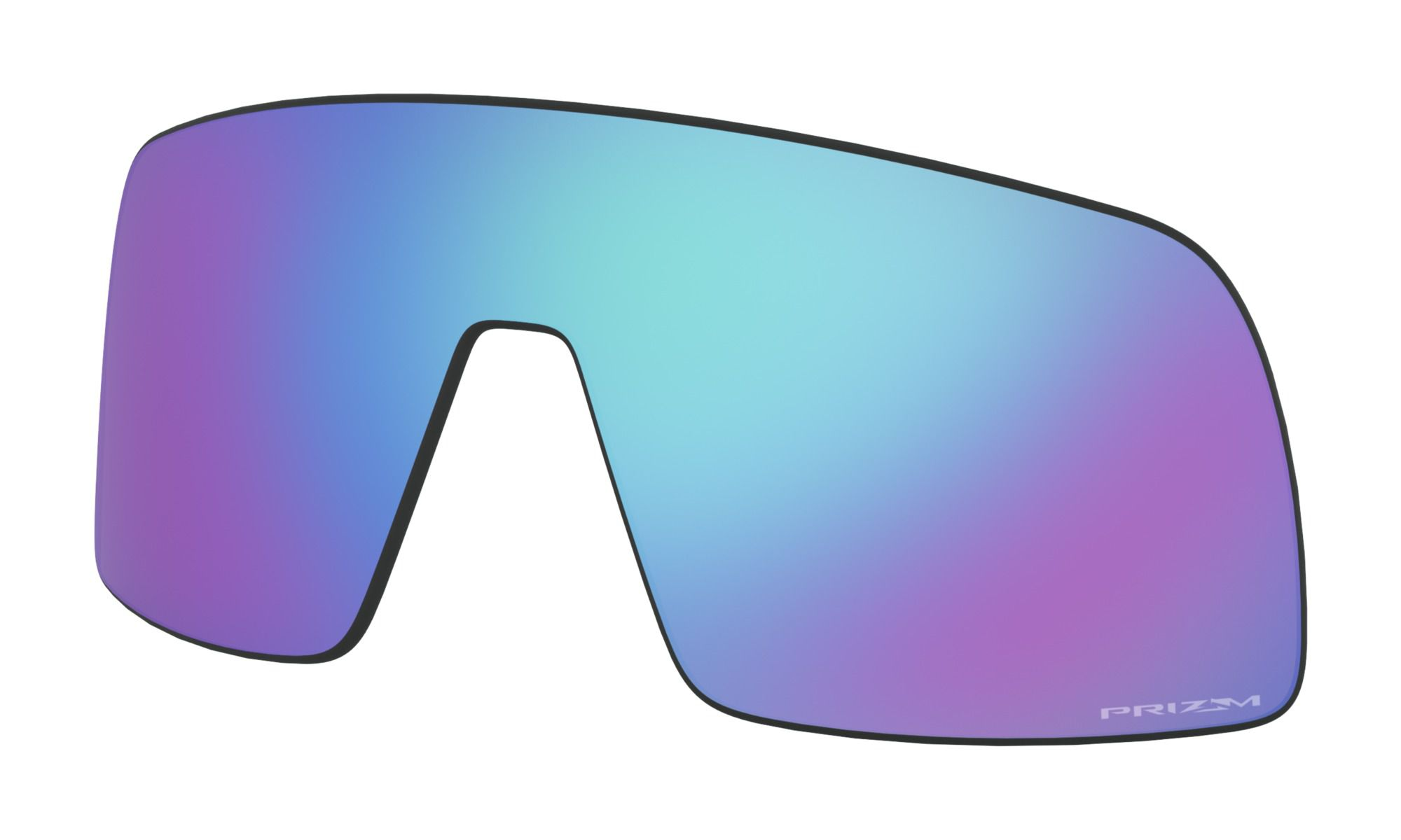 Lente para Oakley Sutro  Prizm Sapphire
