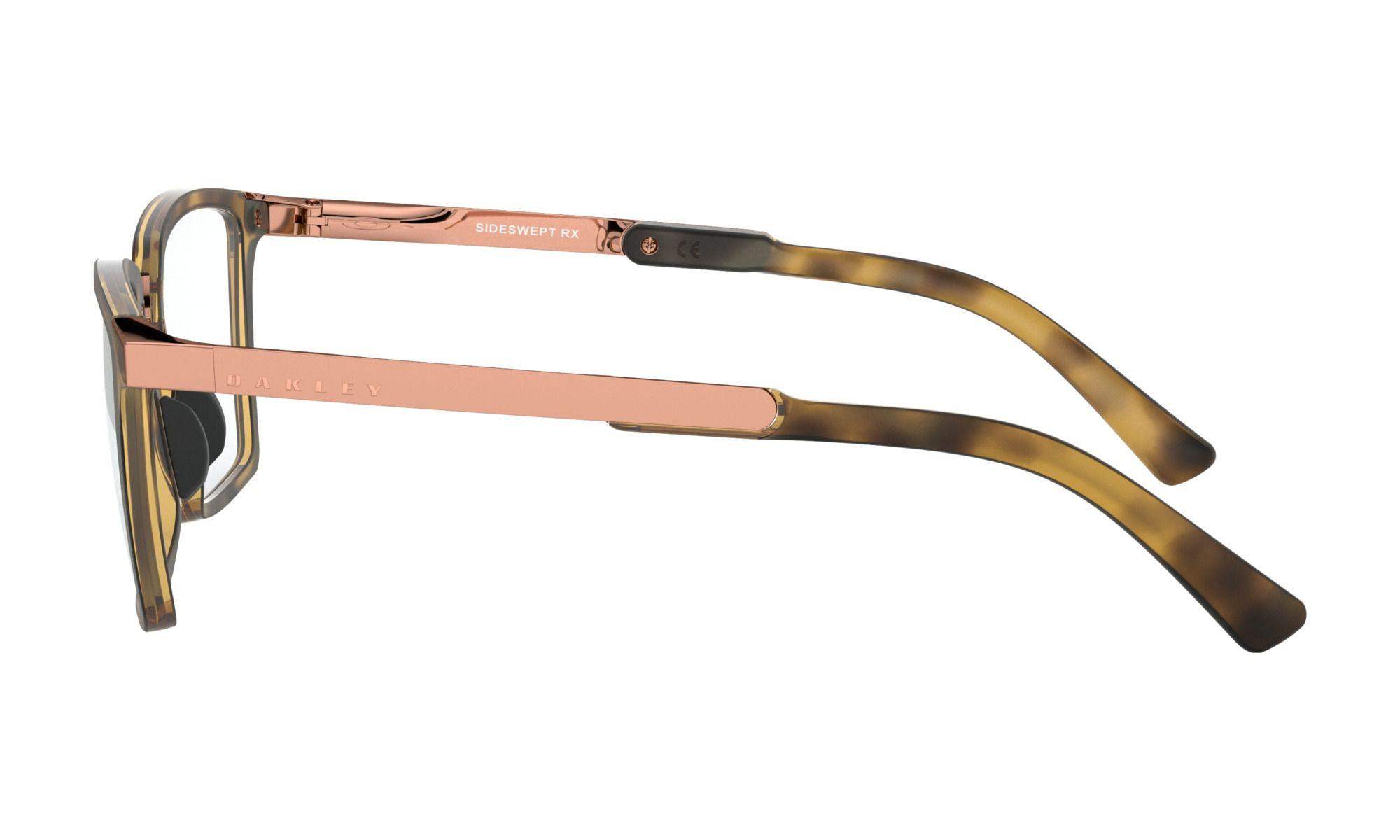 Óculos de Grau Feminino Oakley Sideswept Marrom