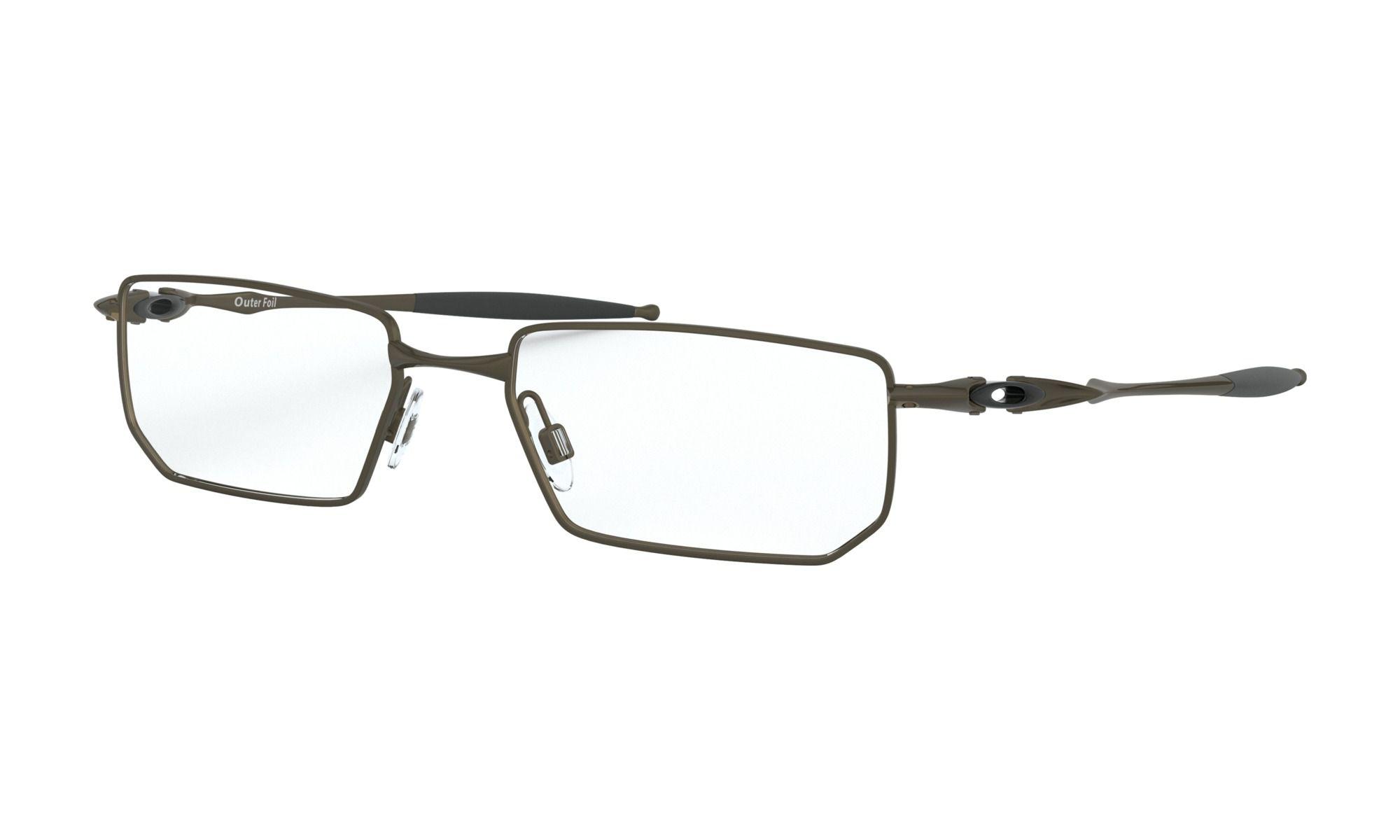 Óculos de Grau Oakley Outer Foil Marrom