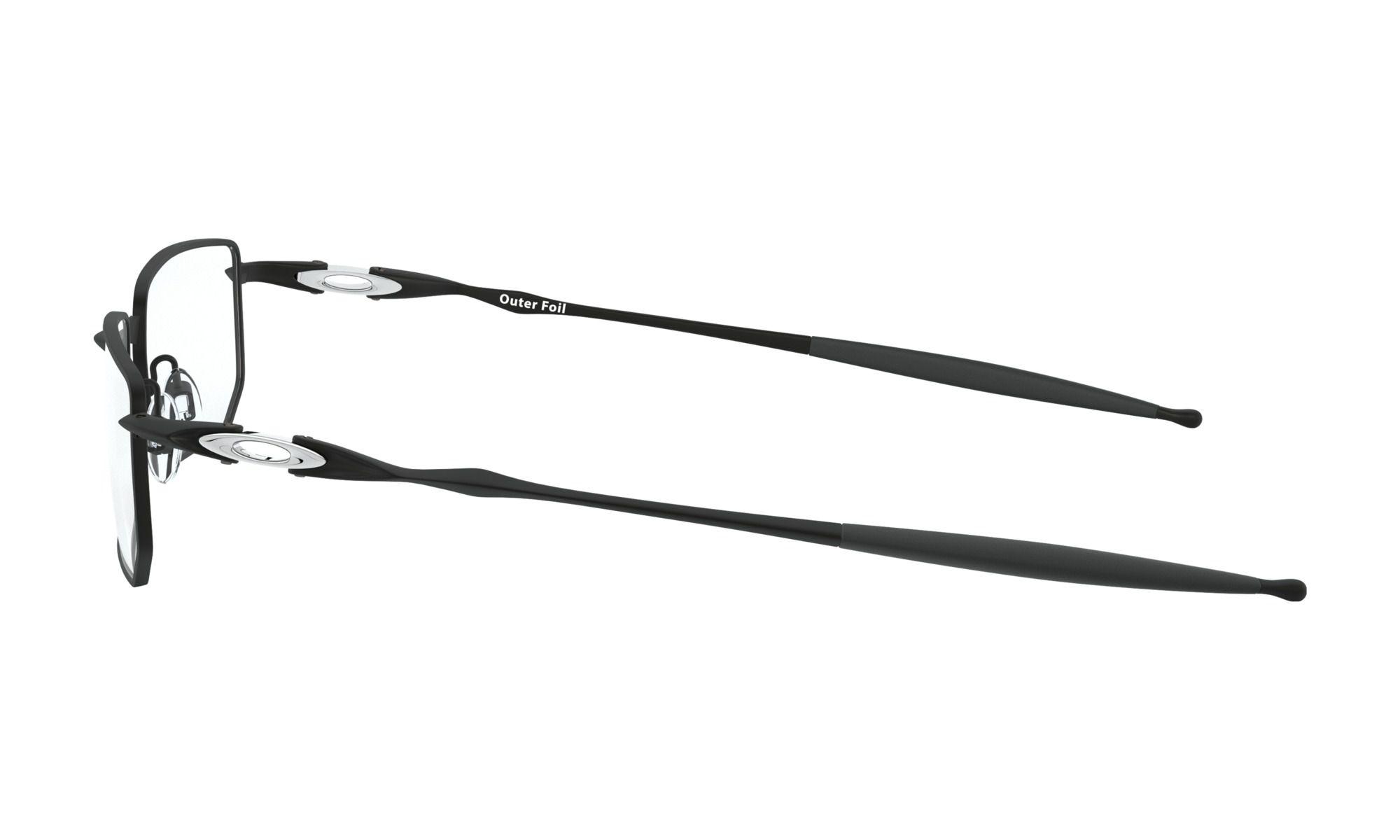 Óculos de Grau Oakley Outer Foil Preto