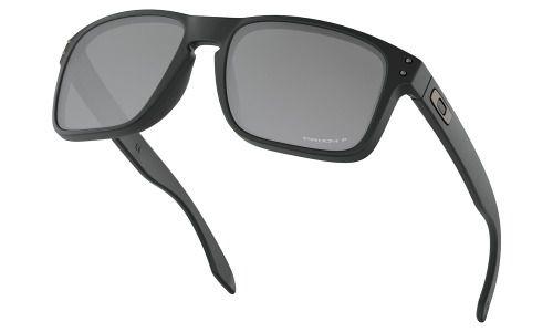 Óculos De Sol Oakley Holbrook Matte Black Prizm Polarizado
