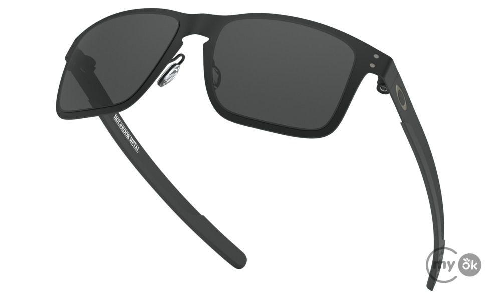 Óculos de Sol Oakley Holbrook Metal Matte Black lentes Grey