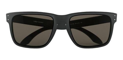 Óculos De Sol Oakley Holbrook Xl Matte Black Lente Cinza