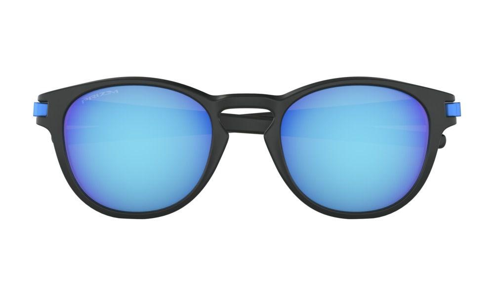 Óculos De Sol Oakley Latch Black Prizm Sapphire
