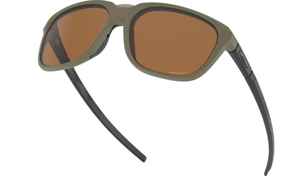 Óculos Oakley Anorak Olive Prizm Tungstein Plrzd