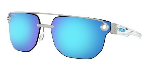 Óculos Oakley Chrystl Satin Chrome Prizm Sapphire