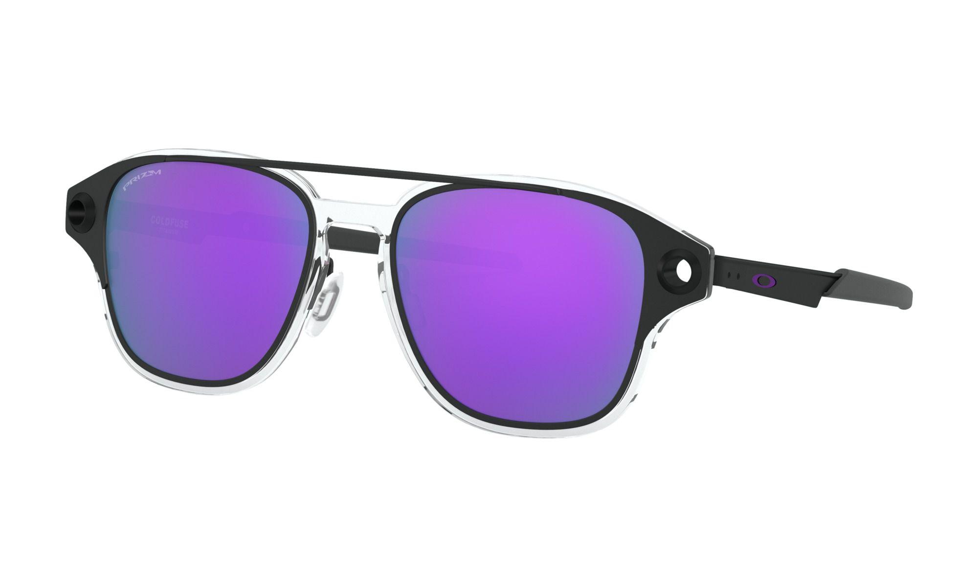 Óculos Oakley Coldfuse Matte Preto Prizm Roxo