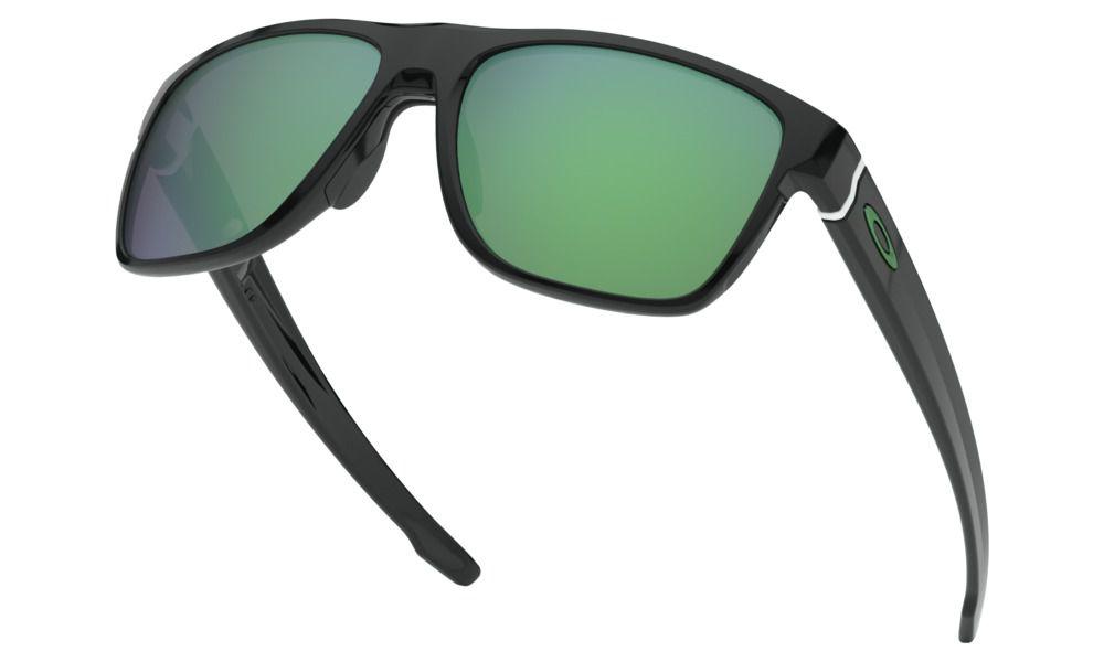 Óculos Oakley Crossrange XL Black Lente Jade Iridium