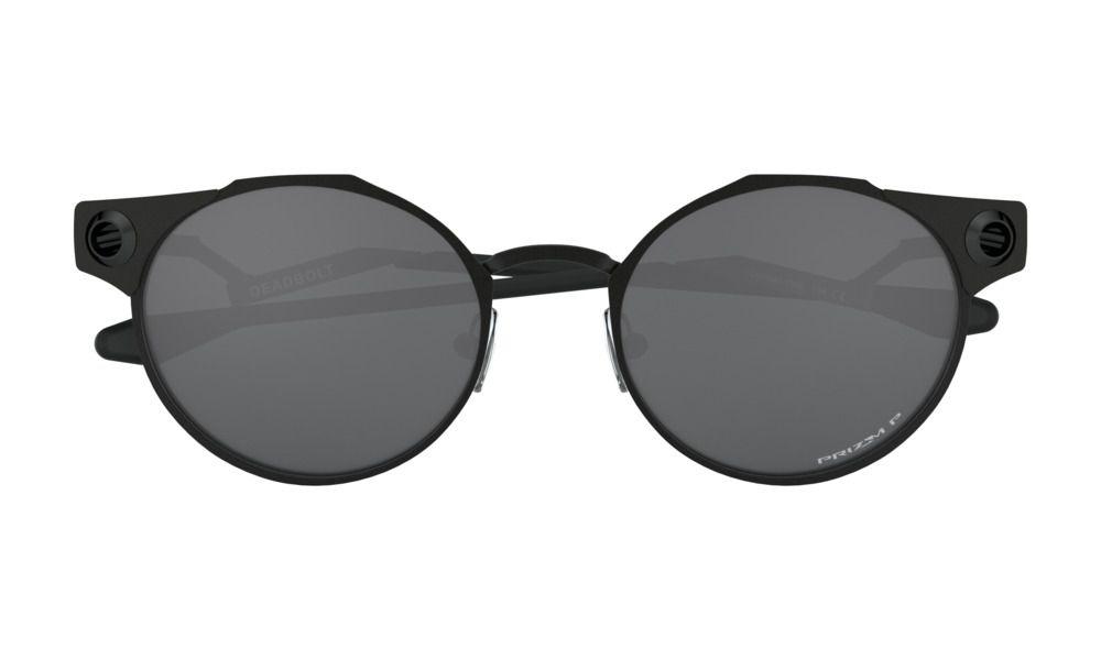 Oculos Oakley Deadbolt Satin Black Prizm Polarized