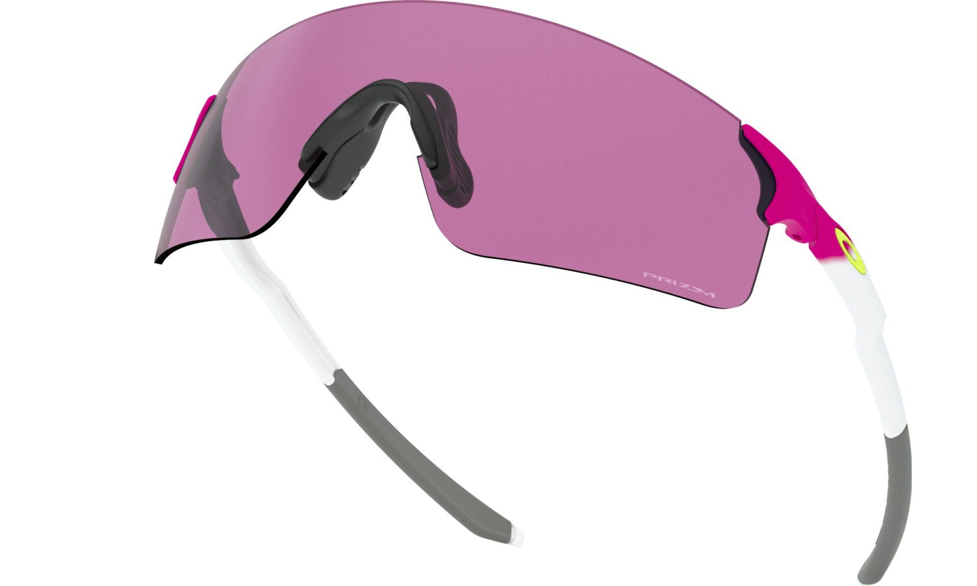 Óculos Oakley Evzero Blades Branco Prizm Road