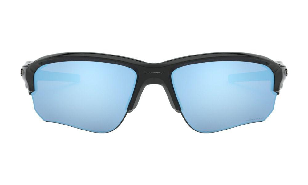 Óculos Oakley Flak Draft Black Prizm Deep Polarizada