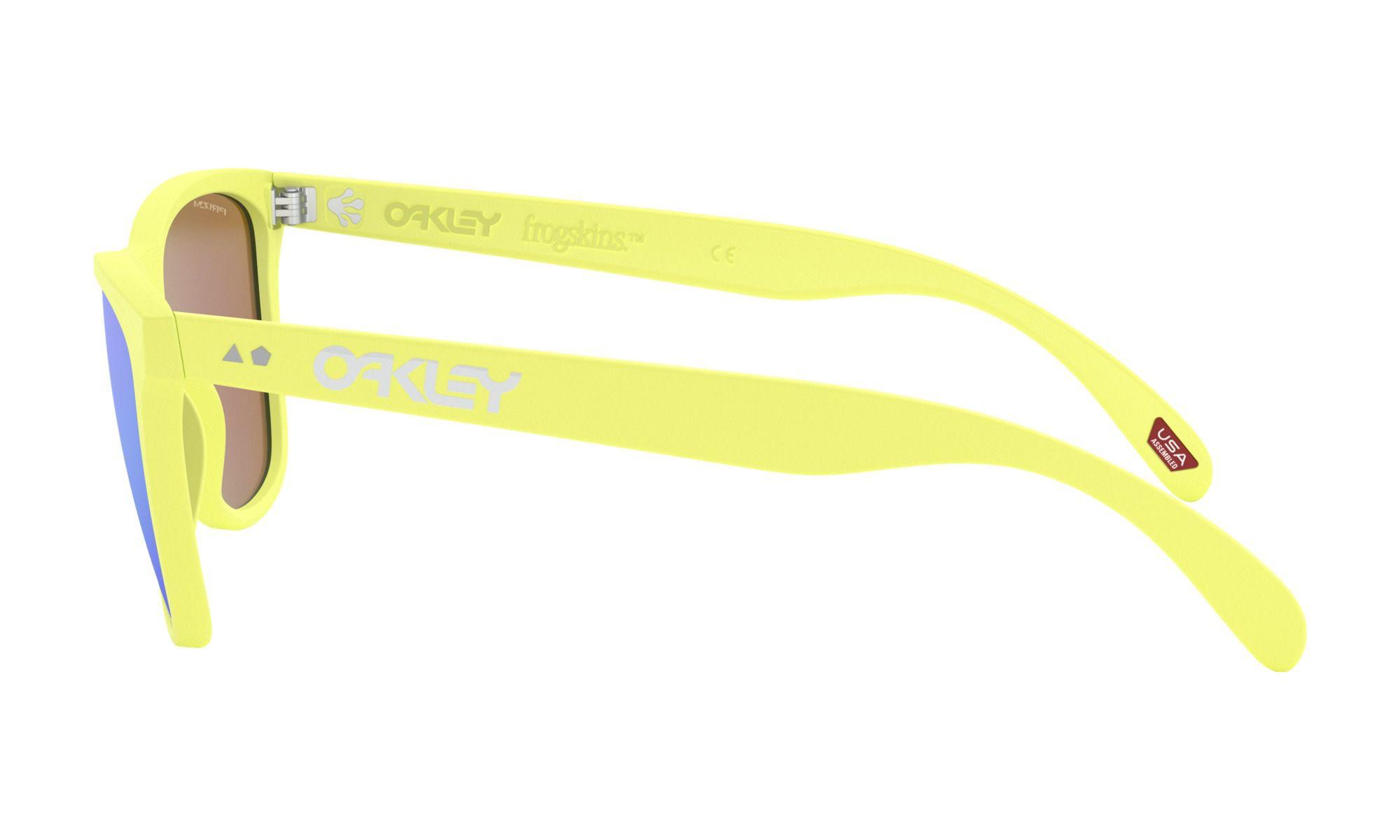 Oculos Oakley Frogskins edição 35 anos Neon Amarelo