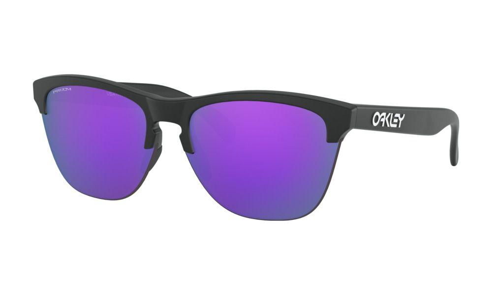 Óculos Oakley Frogskins Lite Black Prizm Violet