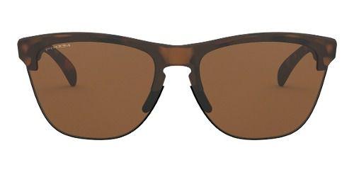 Óculos Oakley Frogskins Lite Marrom Lente Prizm
