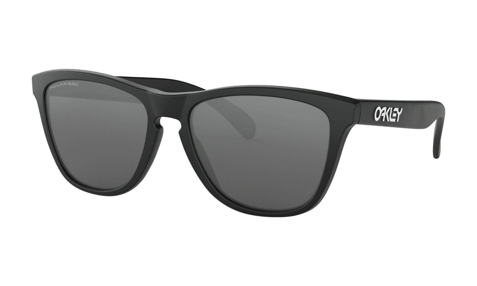 Óculos Oakley Frogskins Matte Black Iridium Plrzd