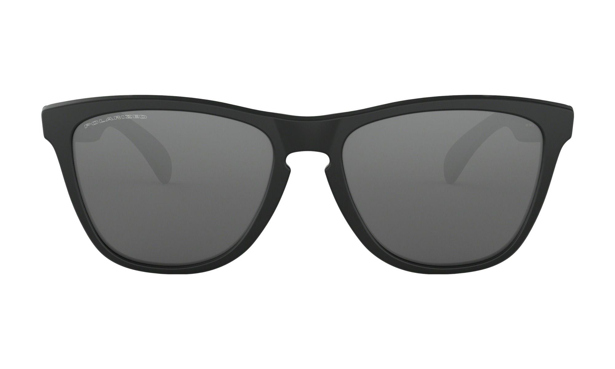 Óculos Oakley Frogskins Matte Black Polarizada