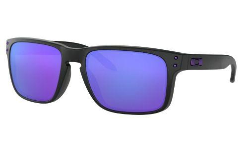 Óculos Oakley Holbrook Matte Black Lente Violet Julian Wilso