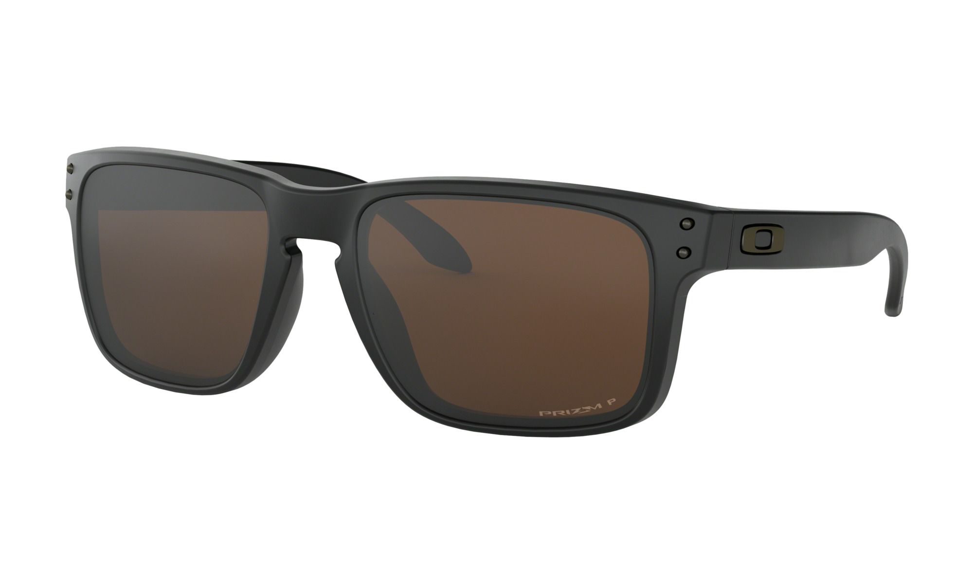 Óculos Oakley Holbrook Matte Black Prizm Tungtein Polarizado