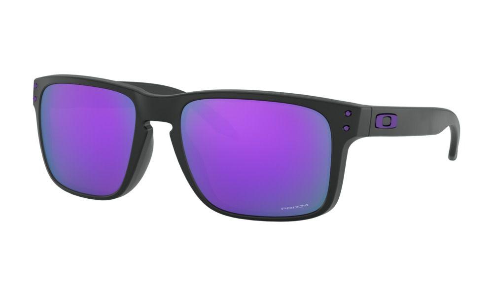 Óculos Oakley Holbrook Matte Black Prizm Violet