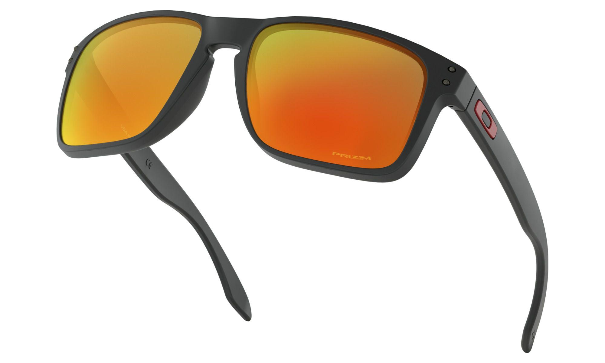 Óculos Oakley Holbrook Xl Black Prizm Ruby