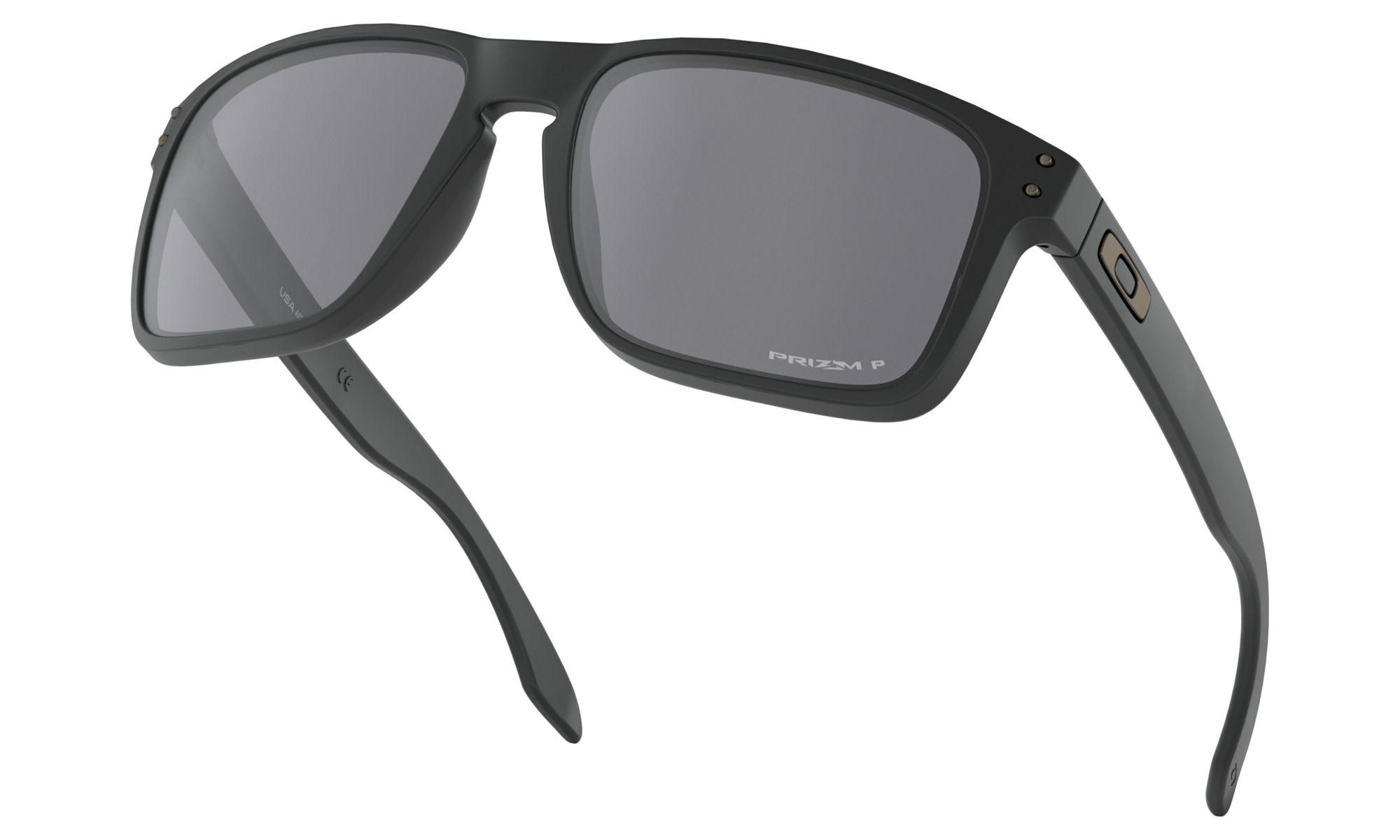Óculos Oakley Holbrook Xl Matte Black Prizm Polarized