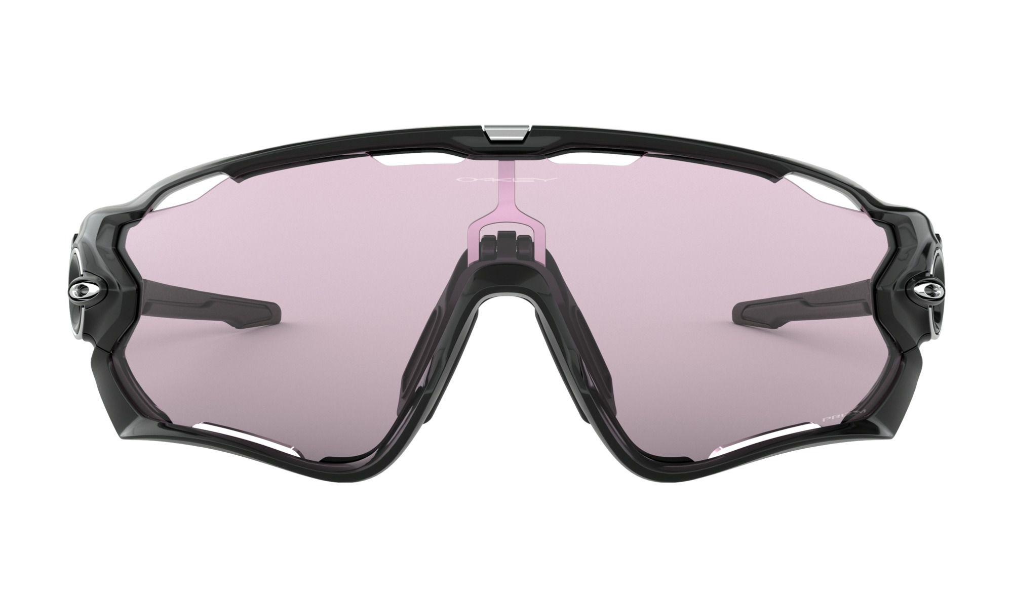 Óculos Oakley Jawbreaker White Lente Prizm Low Light