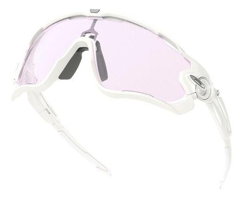 Óculos Oakley Jawbreaker White Lente Prizm Low Light Noturna