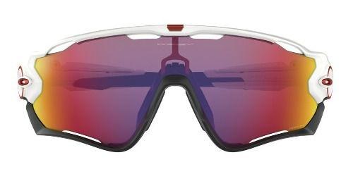 Óculos Oakley Jawbreaker White Lente Prizm Road Performace