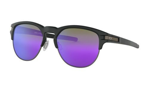 Óculos Oakley Latch Key Matte Black Lente Violet Iridium