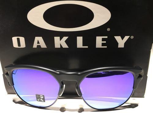 Óculos Oakley Latch Key Matte Black Lente Violet Iridium