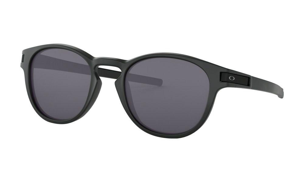 Óculos Oakley Latch Matte Black Lentes Grey