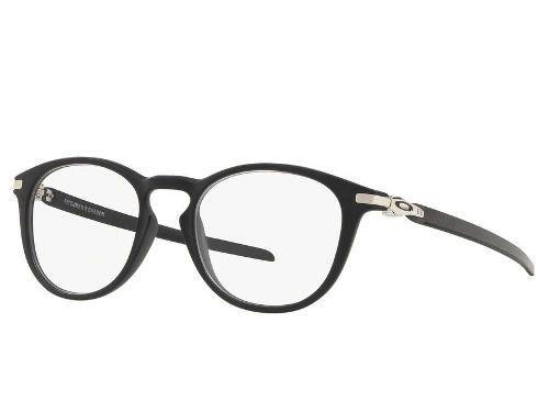 Óculos Oakley Pitchman R Carbon Satin Black Original Redonda