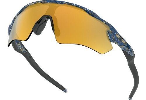 Óculos Oakley Radar Ev Path Splatter Poseidon Collection 24k