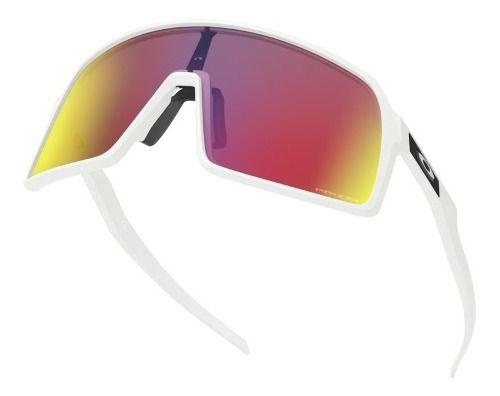 Óculos Oakley Sutro Matte White Lentes Prizm Road