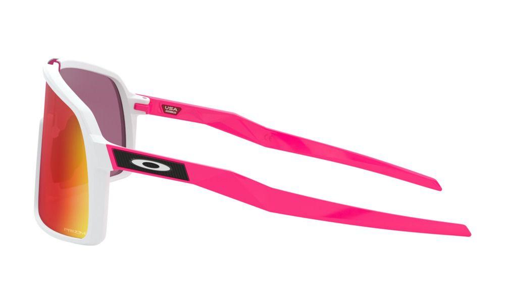 Óculos Oakley Sutro Matte White Prizm Road Limited Editition Jolt Collection
