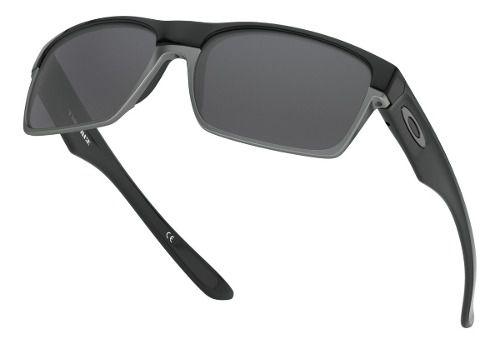 Óculos Oakley Twoface Polished Black Polarizado