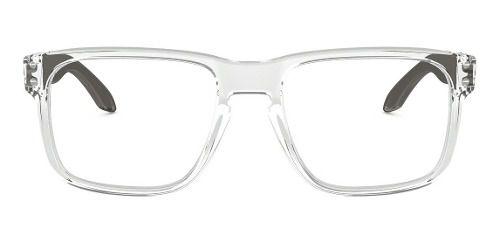 Óculos Para Grau Oakley Holbrook Polished Clear