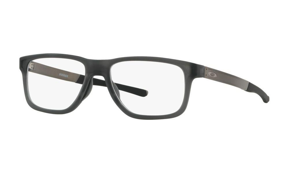 Óculos Para Grau Oakley Sunder Satin Grey OX8123