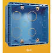 CAIXA LUZ PVC 4X4  - EMBUTIR