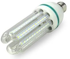 LAMPADA DE LED U 32W LUZ BRANCA (6000K)