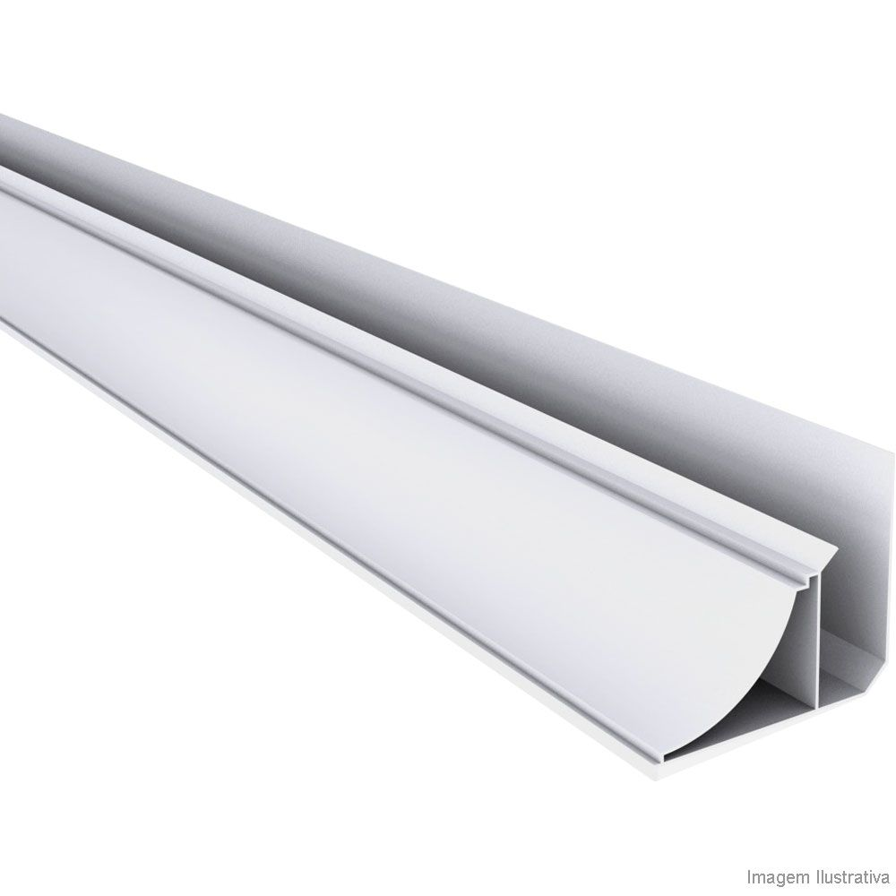 MEIA CANA PVC COLONIAL(BRANCO)- BR C/ 6MTS