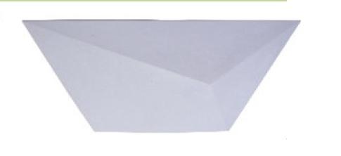 REVESTIMENTO 3D AREZO 46X23 BRANCO  (12PC)