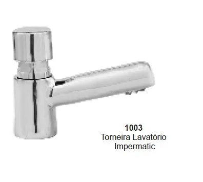 TORNEIRA LAVAT IMPERMATIC SIMPLES BALCAO 1003