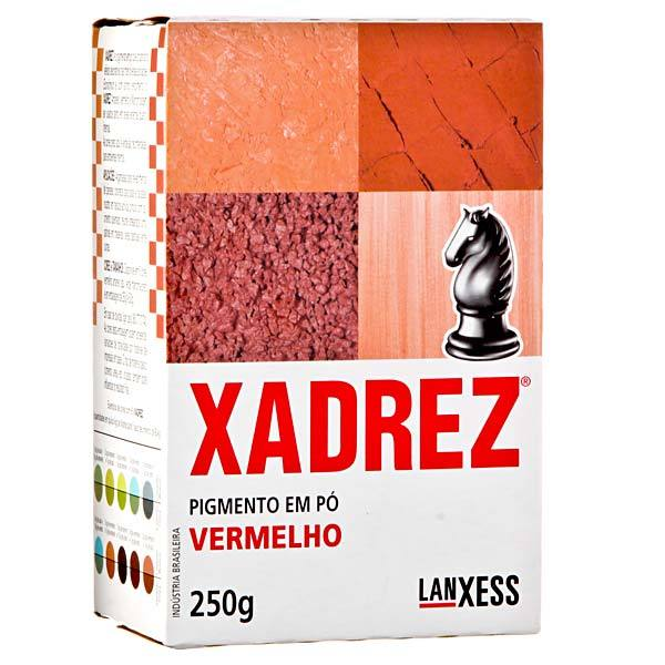 XADREZ 500 GR EM PÓ- VERMELHO