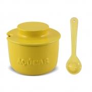 Açucareiro Com Colher De Cerâmica  350GR Ceraflame Gourmet - Amarelo