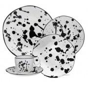 Aparelho De Jantar/Chá 20 Peças Ryo Art - Oxford Porcelanas