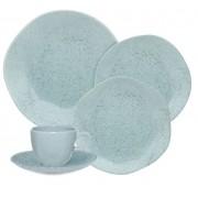 Aparelho De Jantar/Chá 20 Peças Ryo Blue Bay - Oxford Porcelanas